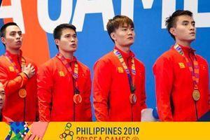 SEA Games 30: Đánh bại Thái Lan, Việt Nam giành HCV kiếm chém đồng đội nam