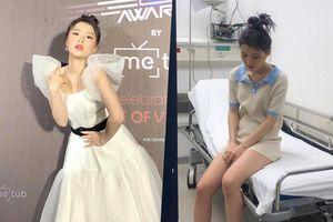Han Sara nhập viện điều trị ngay giữa đêm
