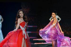 Top những màn xoay váy 'thần sầu' tại đêm Bán kết Hoa hậu Hoàn vũ Việt Nam 2019