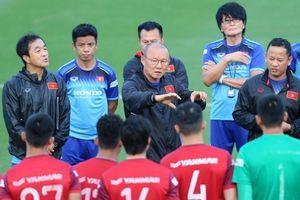 HLV Park Hang Seo: U22 Việt Nam luôn bị lộ đội hình trước giờ thi đấu