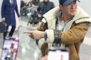 Ngô Kinh gây chú ý vì nổi nóng ở sân bay