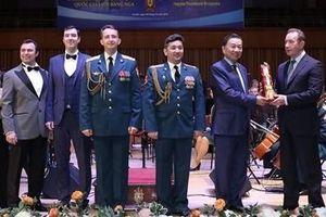 Những giai điệu thắm tình hữu nghị Việt - Nga