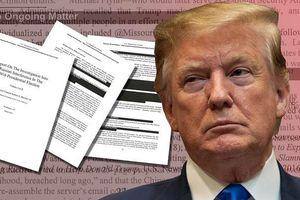 Tổng thống Trump đối mặt 3 điều khoản luận tội