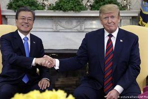Tổng thống Mỹ - Hàn Quốc thảo luận chính sách ngoại giao với Triều Tiên