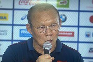 Thầy Park: 'U-22 Việt Nam quyết tâm giành HCV SEA Games'