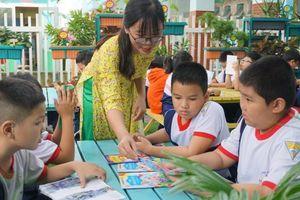 Học sinh hứng thú với tiết học không bục giảng