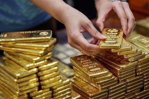 Giá vàng giảm 1,6 triệu đồng sau 3 tháng