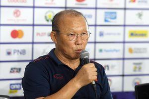 HLV Park Hang Seo: 'U22 Việt Nam tiếp tục nỗ lực để đoạt HCV'
