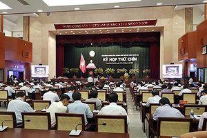 Hội đồng nhân dân Thành phố Hồ Chí Minh họp kỳ thứ 17