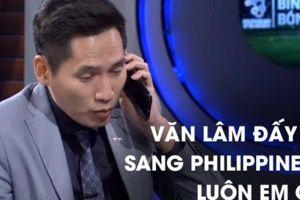 BTV Quốc Khánh xin lỗi thủ môn Tiến Dũng ngay trên sóng trực tiếp