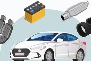 Những vật dụng ra đời từ tái chế ôtô