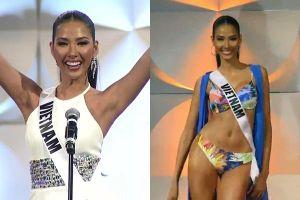 Hoàng Thùy thi bán kết Miss Universe 2019: Chào sân ấn tượng, diễn bikini an toàn, bùng nổ với dạ hội