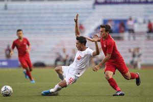 'Đè bẹp' U22 Myanmar, U22 Indonesia giành vé vào chung kết SEA Games 30