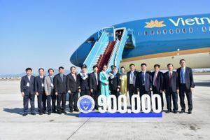 VATM chào đón chuyến bay điều hành an toàn thứ 900.000