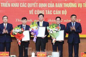 Thái Bình: Luân chuyển, bổ nhiệm một loạt cán bộ chủ chốt