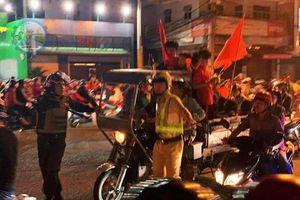 CSGT Đồng Nai tạm giữ hàng loạt xe máy 'đi bão' sau trận thắng của U22 Việt Nam