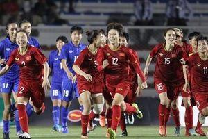 ĐT nữ Việt Nam đăng quang ngôi hậu SEA Games 30