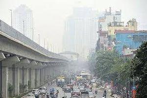 Hà Nội: Chất lượng không khí ngày cuối tuần có chuyển biến xấu