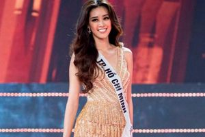 Hoa hậu Hoàn vũ Việt Nam 2019 được xướng tên