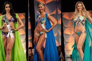 Màn diễn bikini 'rực lửa' của Hoàng Thùy và dàn thí sinh ở bán kết Miss Universe
