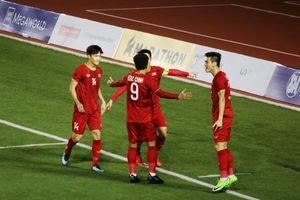 Tiến Linh nỗ lực hồi phục hướng tới trận chung kết SEA Games