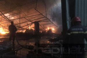Bình Dương: Hỏa hoạn tại công ty gỗ lúc rạng sáng