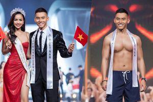 Siêu mẫu Mạnh Khang lọt Top 20 Nam vương Siêu quốc gia 2019