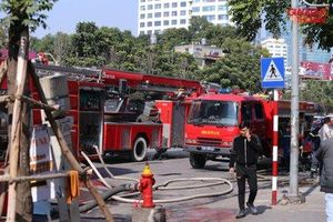 Nguyên nhân cháy tại chi nhánh ngân hàng BIDV Nguyễn Chí Thanh?