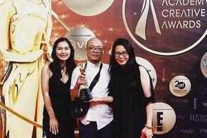 Lần đầu tiên Việt Nam đạt Giải thưởng Hàn lâm sáng tạo châu Á