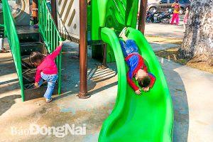 An toàn tại khu vui chơi thiếu nhi: Cần được quan tâm hơn