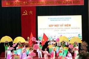 Phòng Giáo dục và Đào tạo huyện Thanh Ba: 60 năm xây dựng và phát triển
