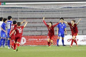 Hạ gục Thái Lan, ĐT nữ Việt Nam lần thứ 6 vô địch SEA Games