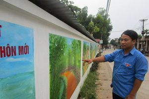 Tuổi trẻ Tòng Bạt chung tay tô điểm làng quê