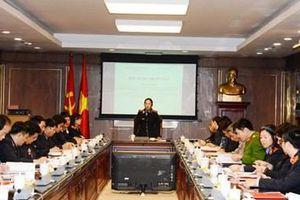 Hội thảo phục vụ xây dựng Sổ tay Kiểm sát viên