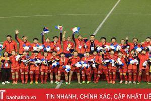 Bóng đá nữ giúp đoàn thể thao Việt Nam vượt Indonesia lên thứ 2 toàn đoàn