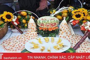 Gần 90 gian hàng tham gia Lễ hội cam và các sản phẩm nông nghiệp Hà Tĩnh lần thứ 3