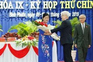 Bình Phước có nữ Chủ tịch UBND tỉnh đầu tiên