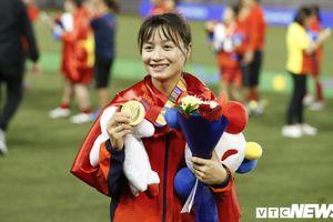 Nữ tuyển thủ xinh đẹp Hoàng Thị Loan: Em chưa có người yêu