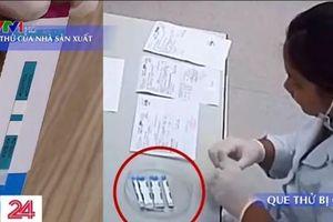 Bệnh viện Xanh Pôn báo cáo như thế nào về vụ cắt đôi que thử HIV, viêm gan B?