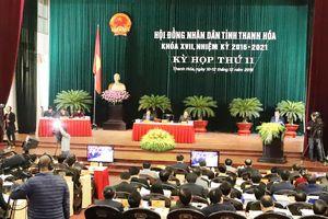 Khai mạc kỳ họp HĐND tỉnh Thanh Hóa