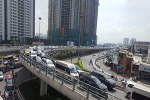 Từ mai, chú ý để không bị kẹt xe trên đường Nguyễn Hữu Cảnh