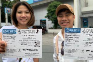 CĐV Việt Nam mua vé cao gấp 10 lần để xem chung kết SEA Games