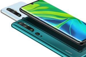 Xiaomi ra mắt Mi Note 10 với cụm 5 camera với cảm biến 108MP