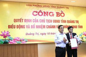 Quảng Trị có tân Chánh Văn phòng UBND tỉnh