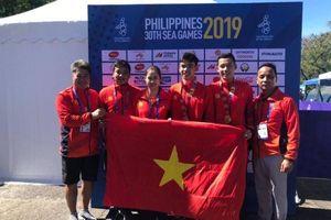 ĐTT Việt Nam và ĐTT Thái Lan bám đuổi nhau vị trí thứ 2 trên bảng tổng sắp huy chương
