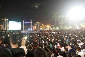 Huyện miền núi Nghệ An lắp màn hình 'khủng' cổ vũ U22 Việt Nam đá chung kết