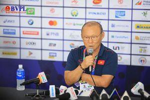 HLV Park Hang Seo: Tôi nhận được tình yêu từ người Việt Nam và phải có trách nhiệm thắng trận này