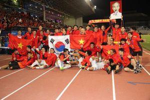 Xúc động thời khắc lịch sử của bóng đá Việt Nam
