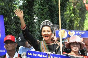 Hoa hậu H'Hen Niê: Niềm kiêu hãnh của đại ngàn Tây Nguyên