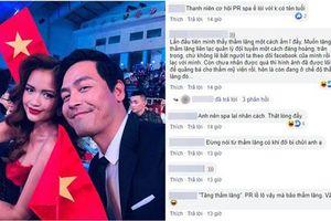 MC Phan Anh tuyên bố tặng đội bóng đá nữ liệu trình làm đẹp 'thầm lặng', bị chỉ trích gay gắt vì nghi vấn lợi dụng tên tuổi đội tuyển để PR spa riêng?